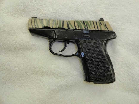 Kel-Tec P11 ,3 color Tiger Stripe